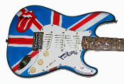 KEITH RICHARDS Autographed Signed ROLLING STONES Guitar PSA DNA