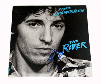 BRUCE SPRINGSTEEN Autograph Signed THE RIVER ALBUM AUTHENTIC!