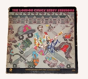 Chuck Berry Autographed Signed The London Sessions Album