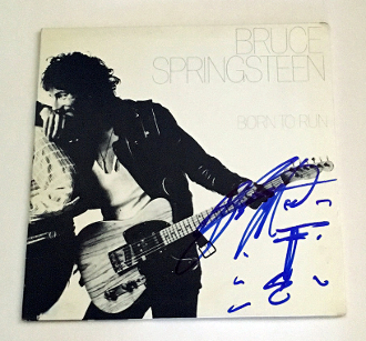 BRUCE SPRINGSTEEN Autographed Signed w/ SKETCH Born to Run Album