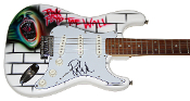 ROGER WATERS Autograph Signed PINK FLOYD FENDER Guitar AUTHENTIC